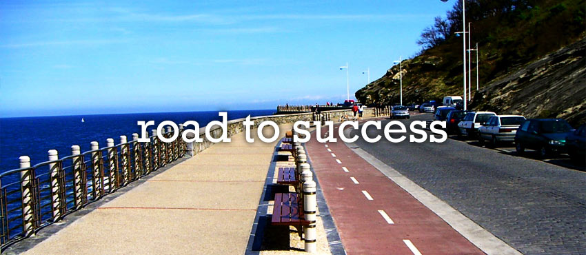 road to entrepreneurial success