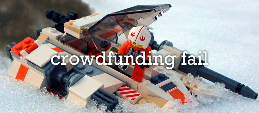 When Kickstarter Crashes And Burns: Three Infamous Crowdfunded Flops