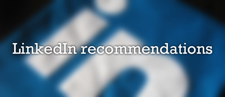linkedin recommendations feature