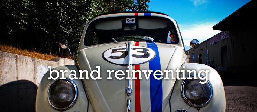 brand reinventing