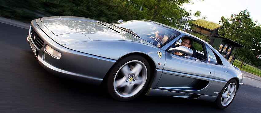 Team Building Idea: Want to Race a Ferrari 355?