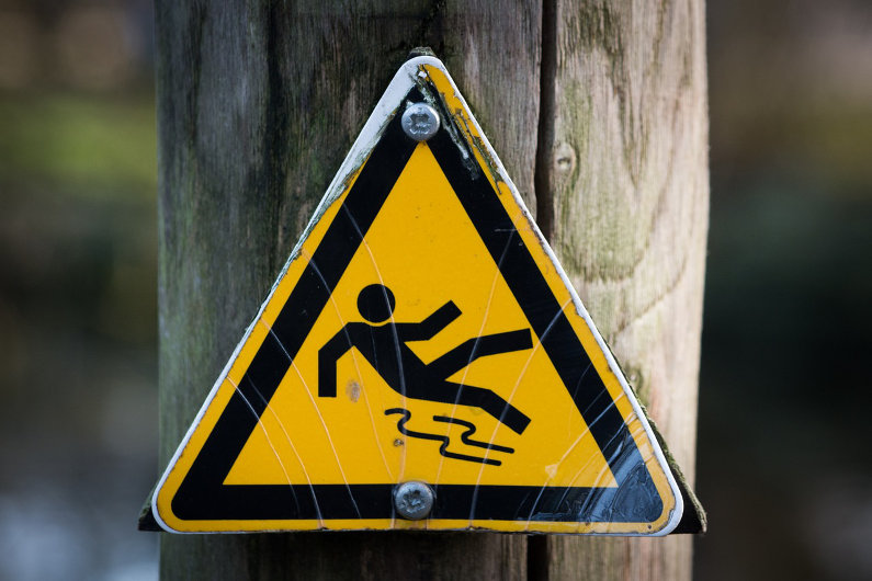 Caution - Slippery!