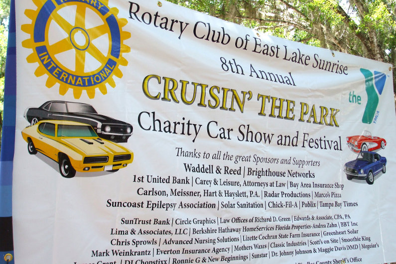 Charity car show and festival