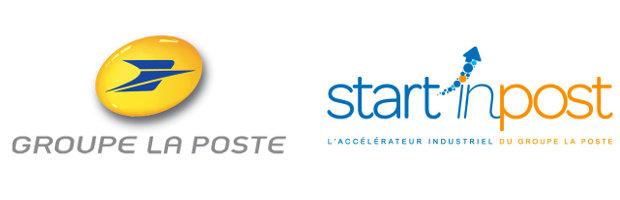 Groupe La Poste and Start'inPost logo