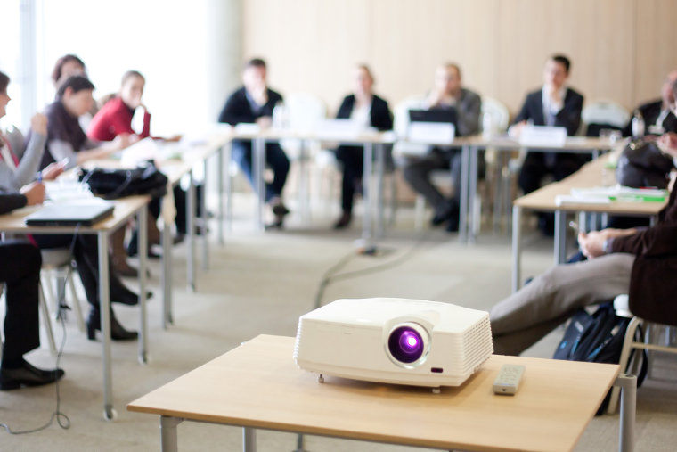 Staff training in a class