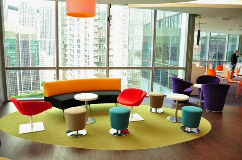 Colorful office - Yahoo!