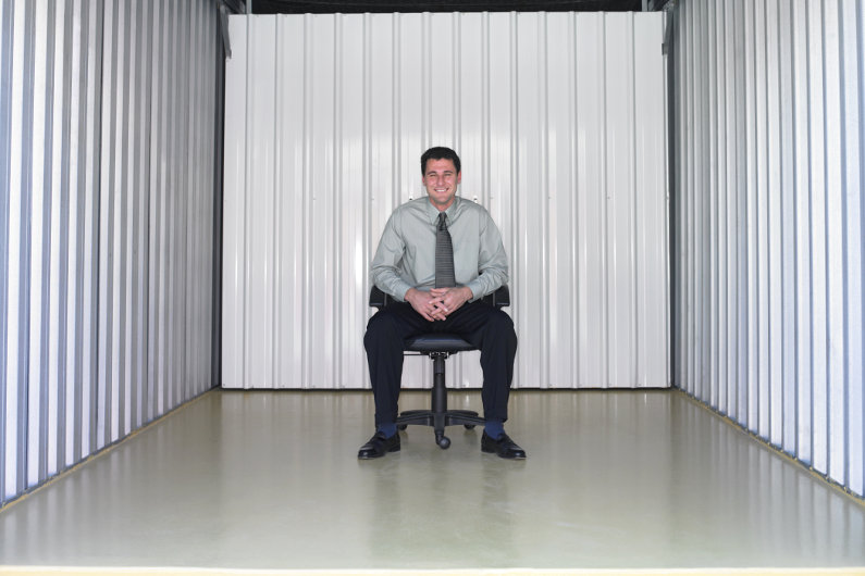Self storage for office