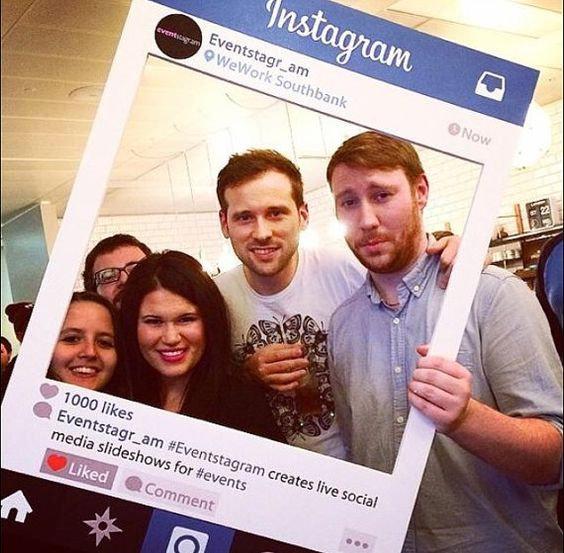 Selfie frame - Instagram