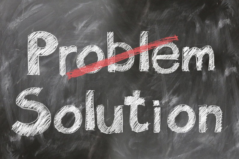 Solving problems and finding solutions