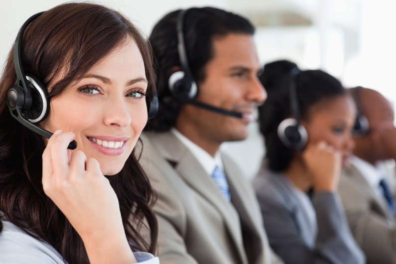 Live phone answering service