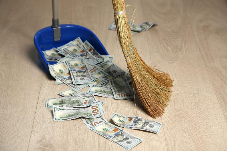 Throw away money