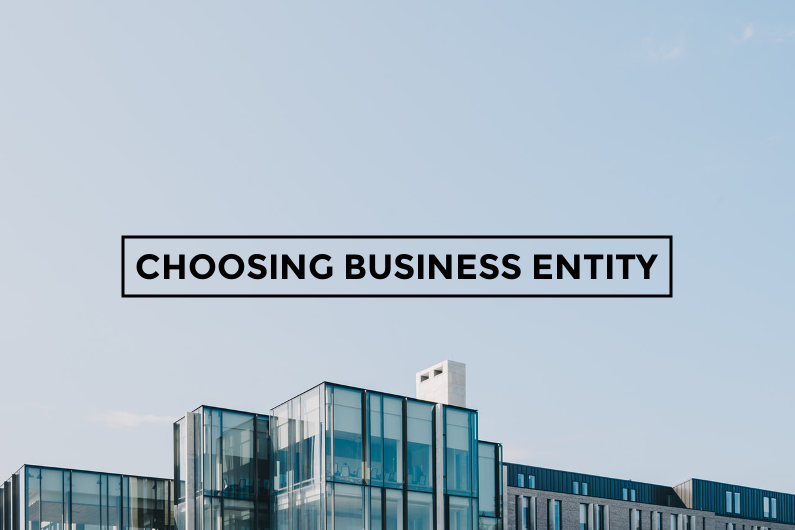 Choosing business entity
