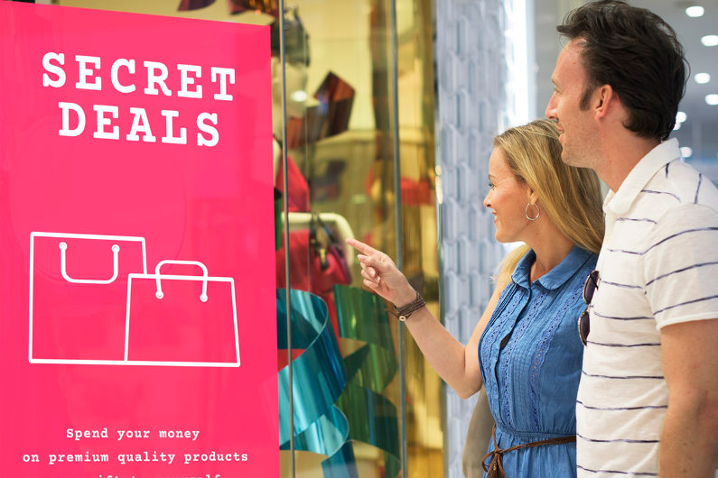 Secret deal pushes customers to act