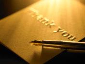Need to Send Better Thank You Letters? Try Engraved Stationery