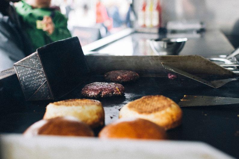 Street food in UK