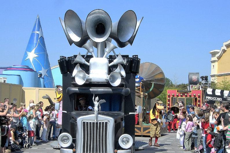 Disney marketing megaphone