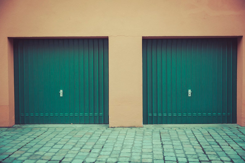 Business garage doors