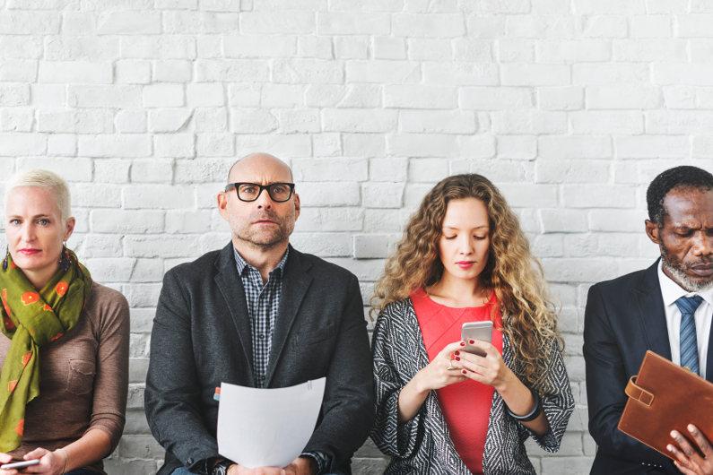 Color psychology in job interviews