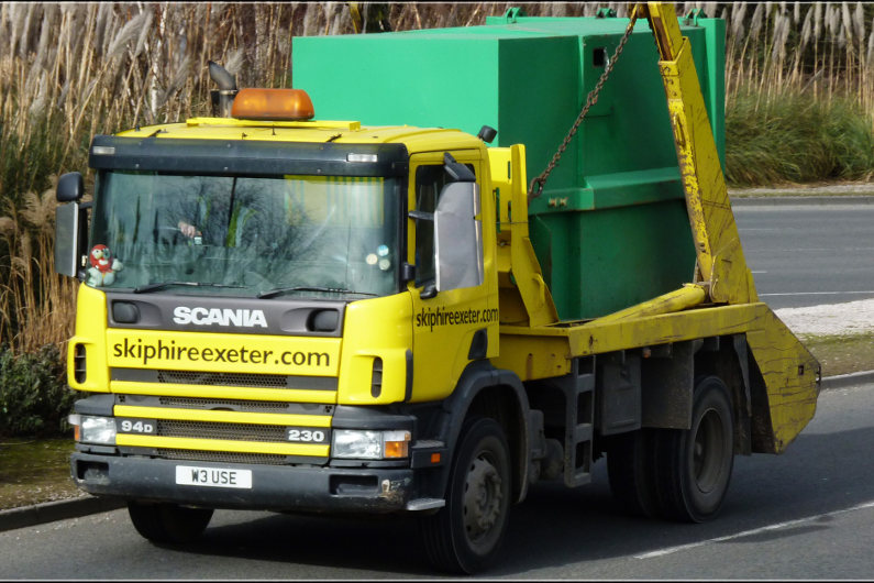 Skip hire roles in construction