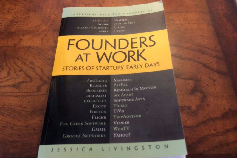Founders At Work by Jessica Livingstone