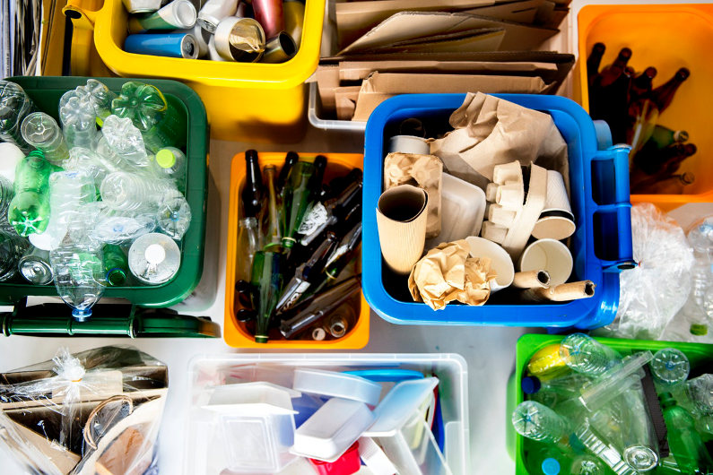 Plastic waste in hospitality industry