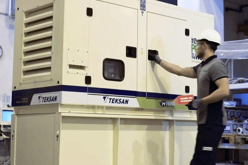 TEKSAN power generator