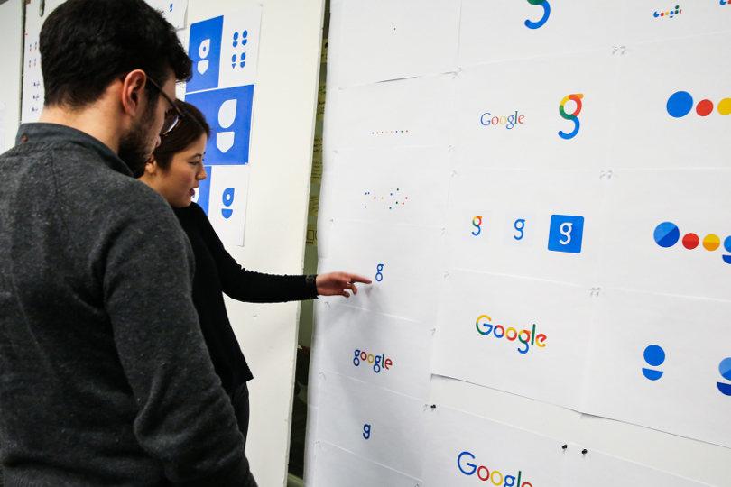 Google logo design concepts
