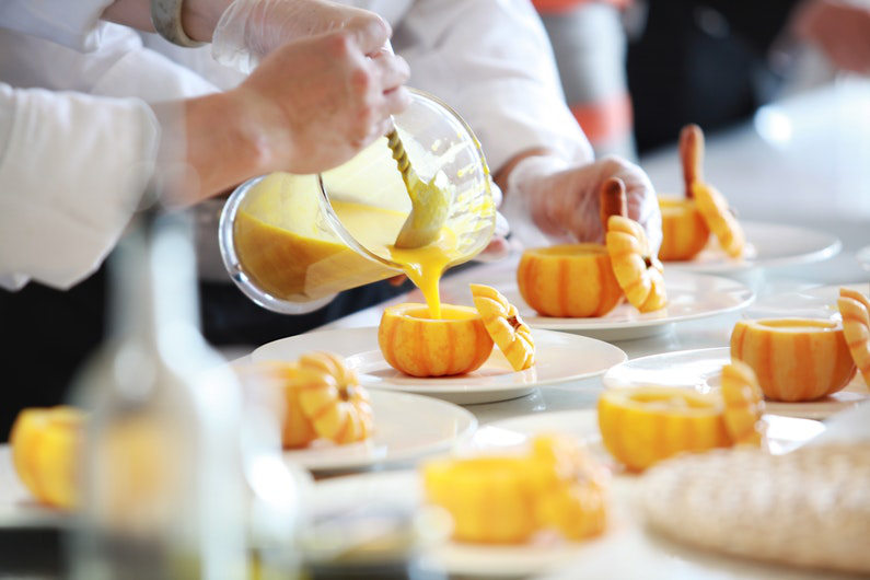 Catering for corporate events