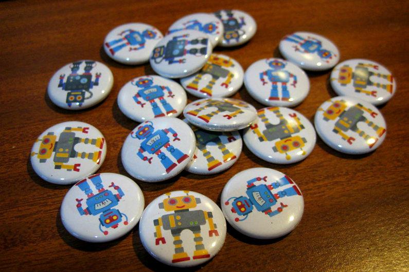 Custom event badges