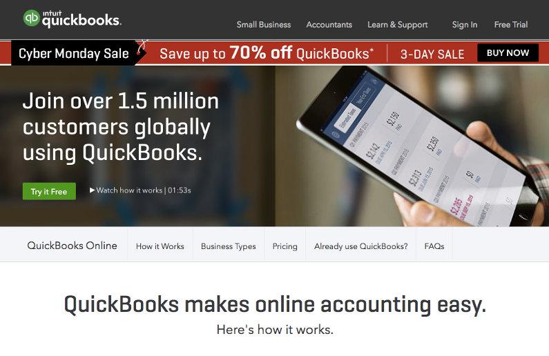 QuickBooks screenshot