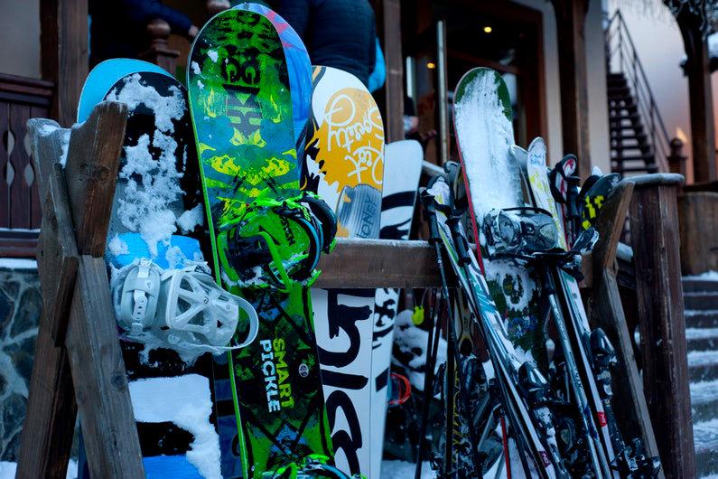 Ski equipment sales