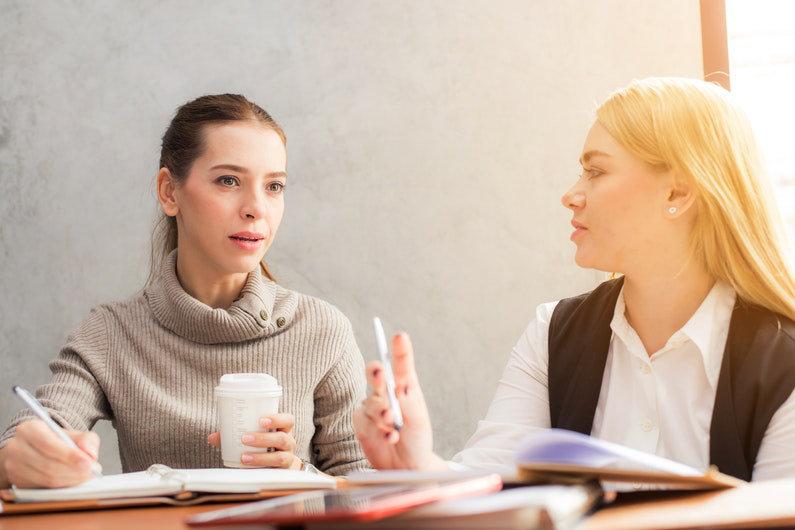 Employee dialogue