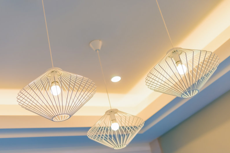 Home lighting design feature