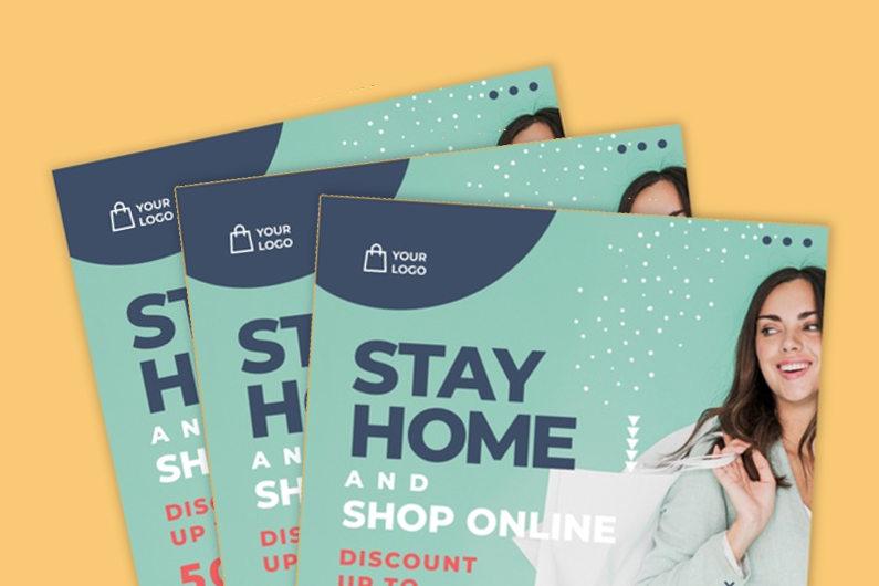 Online store flyers