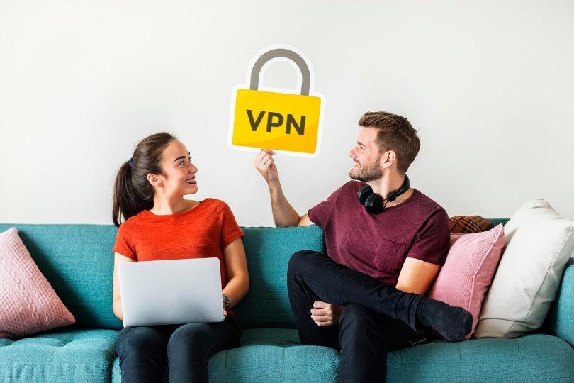 Hiding IP using VPN