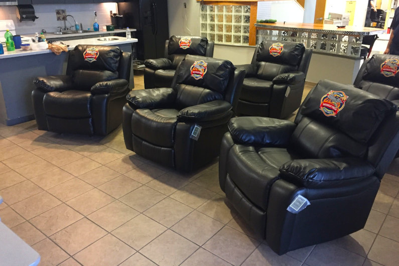 Firehouse recliners